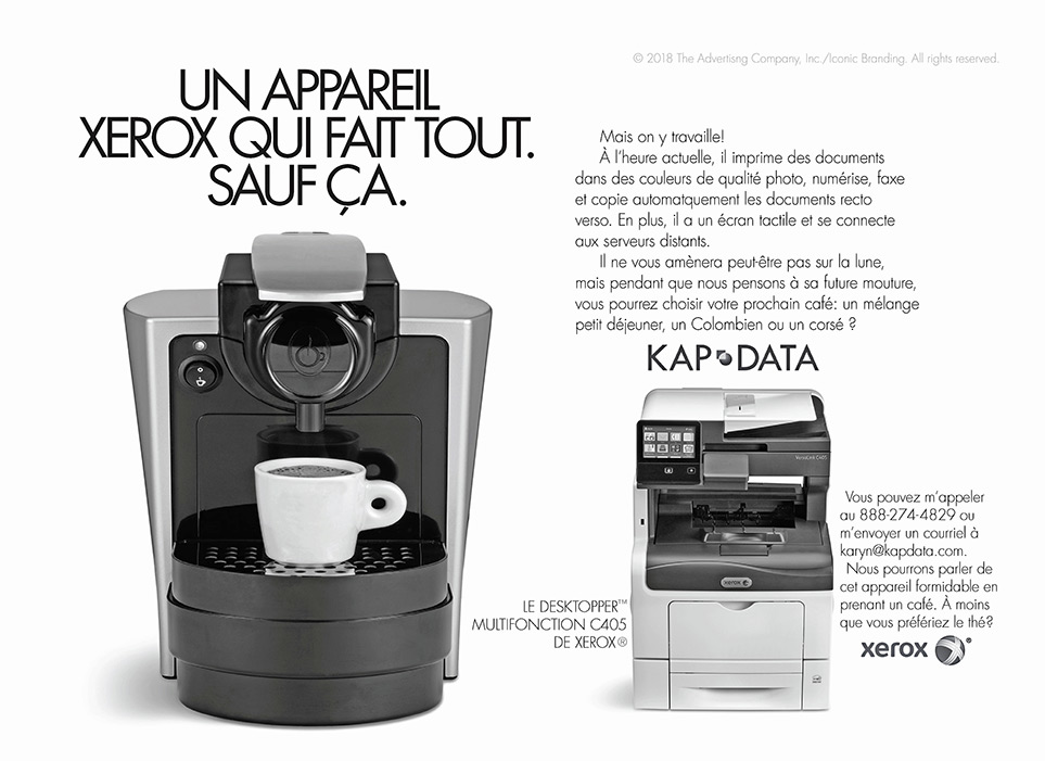 Xerox Ad French